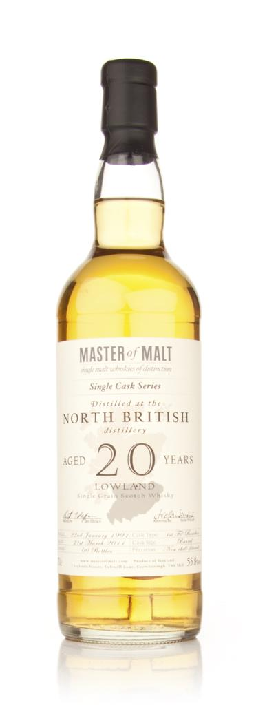 North British 20 Year Old 1991 - Single Cask (Master of Malt) Single Malt Whisky