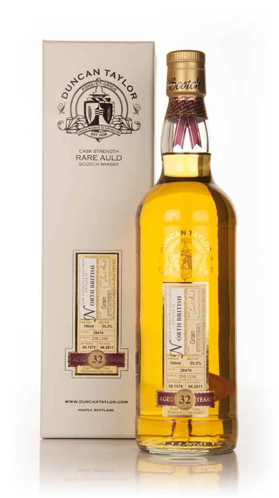 North British 32 Year Old 1978 Cask 38476 - Rare Auld (Duncan Taylor) Single Grain Whisky