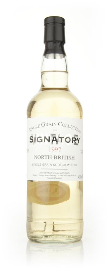 North British 14 Year Old 1997 (Signatory) Grain Whisky