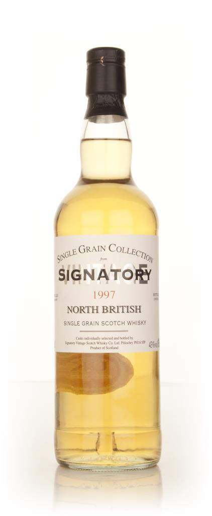 North British 14 Year Old 1997 - Single Grain Collection (Signatory) Grain Whisky