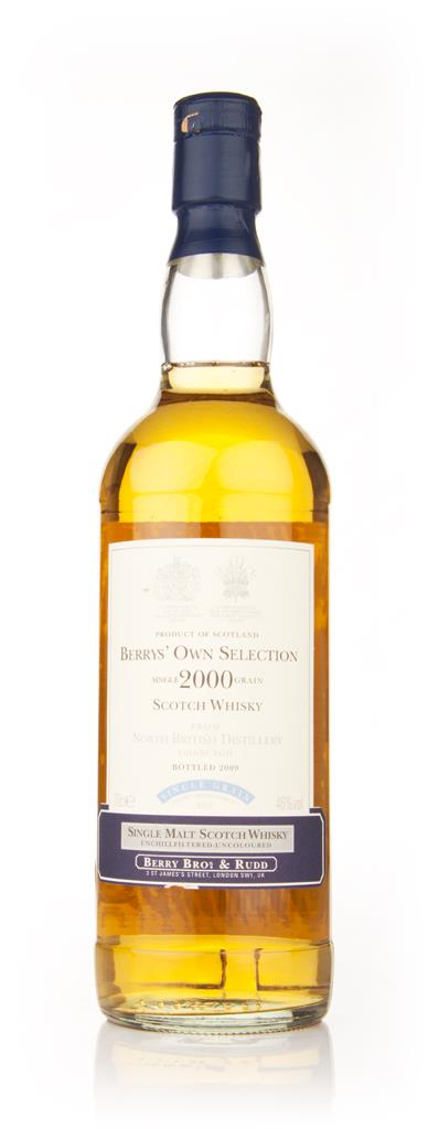 North British 2000 (Berry Bros. & Rudd) Grain Whisky