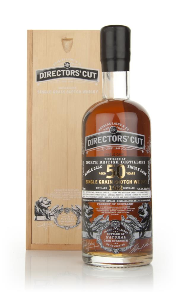North British 50 Year Old 1960 - Directors Cut (Douglas Laing) Single Grain Whisky