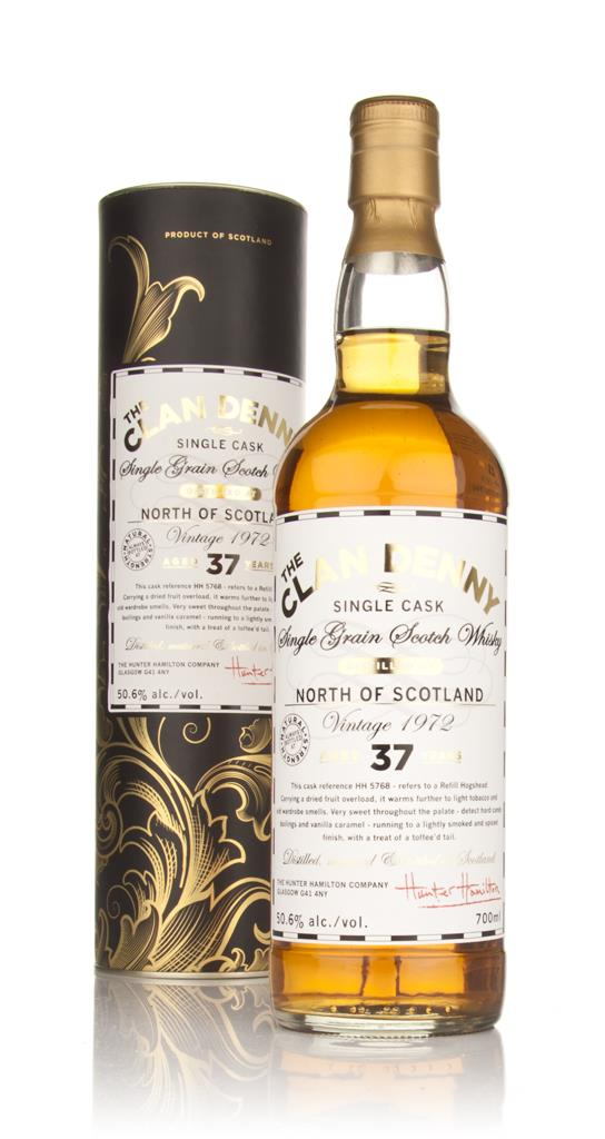 North of Scotland 37 Year Old 1972 - The Clan Denny (Douglas Laing) Grain Whisky