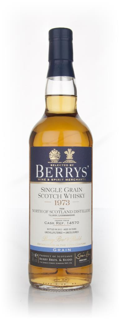 North Of Scotland 38 Year Old 1973 (Berry Brothers and Rudd) Single Malt Whisky