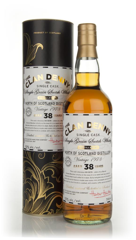 North Of Scotland 38 Years Old 1973 - The Clan Denny (Douglas Laing) Single Malt Whisky