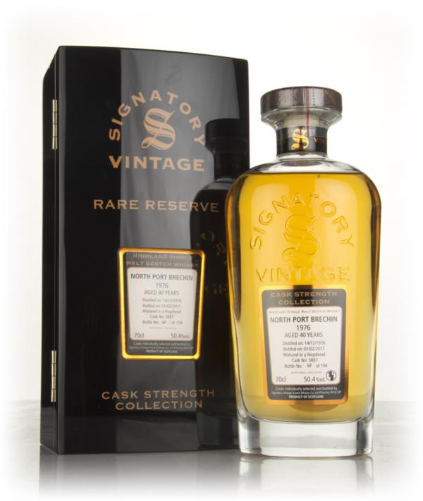 North Port Brechin 40 Year Old 1976 (cask 3887) - Cask Strength Collec Single Malt Whisky