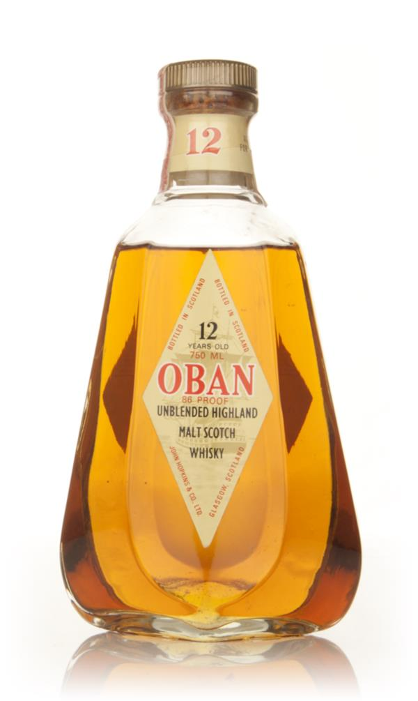 Oban 12 Year Old Single Malt Scotch Whisky - 1970s Single Malt Whisky