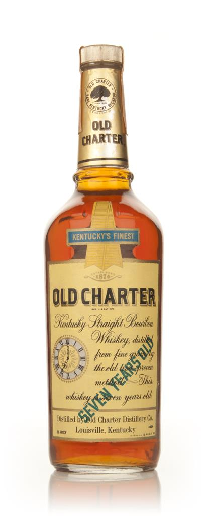 Old Charter 7 Year Old Kentucky Bourbon - 1970s Bourbon Whiskey