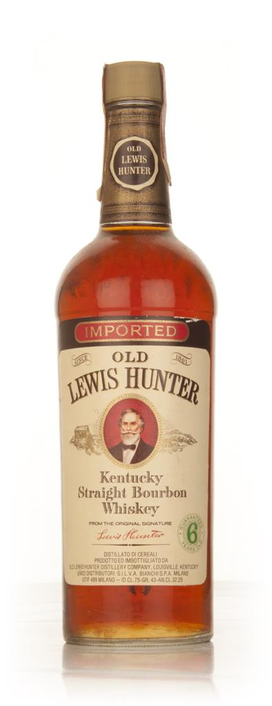 Old Lewis Hunter 6 Year Old - 1970s Bourbon Whiskey