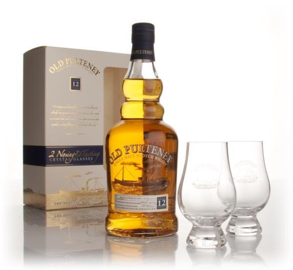 Old Pulteney 12 Year Old With 2 Tasting Glasses Single Malt Whisky