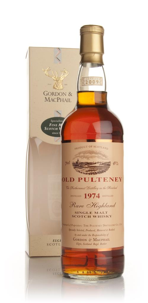 Old Pulteney 1974 (Gordon and MacPhail) Single Malt Whisky