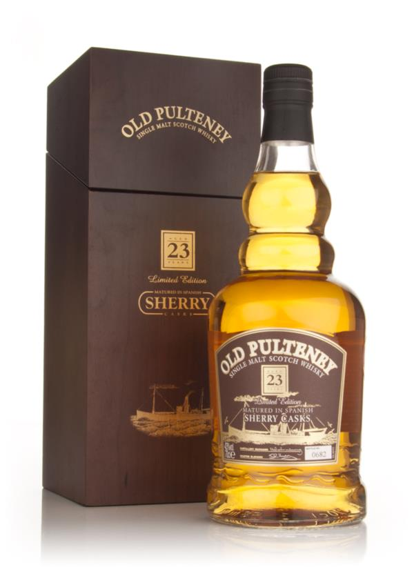Old Pulteney 23 Year Old - Sherry Casks Single Malt Whisky