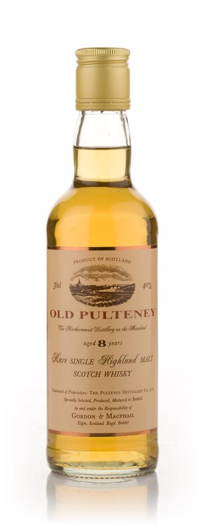 Old Pulteney 8 Year Old 35cl (Gordon and MacPhail) Single Malt Whisky