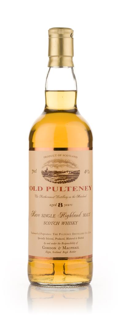 Old Pulteney 8 Year Old (Gordon and MacPhail) Single Malt Whisky