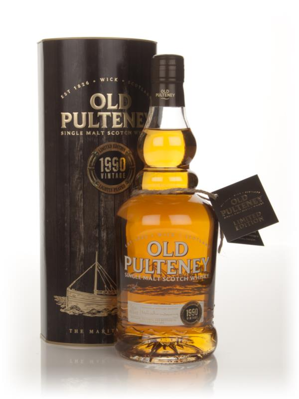 Old Pulteney Limited Edition 1990 Vintage Single Malt Whisky