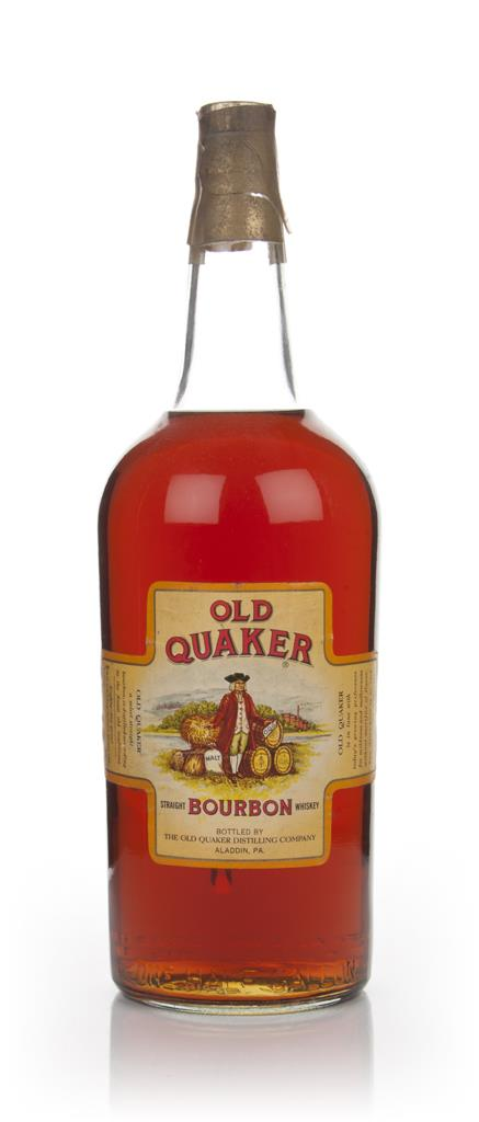 Old Quaker 4 Year Old Straight Bourbon Whiskey - 1950s Bourbon Whiskey
