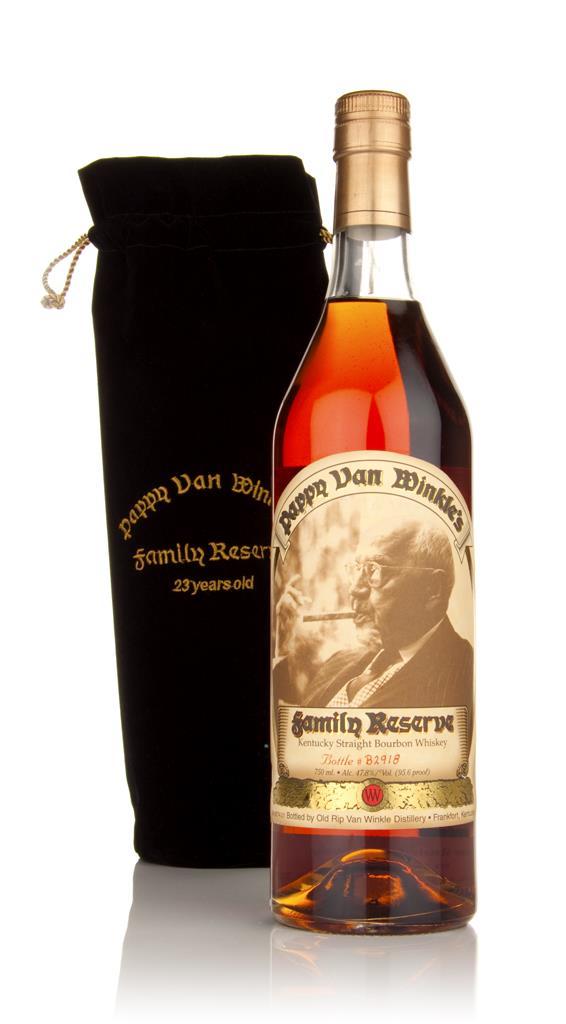 Pappy Van Winkles 23 Year Old Family Reserve Bourbon Whiskey