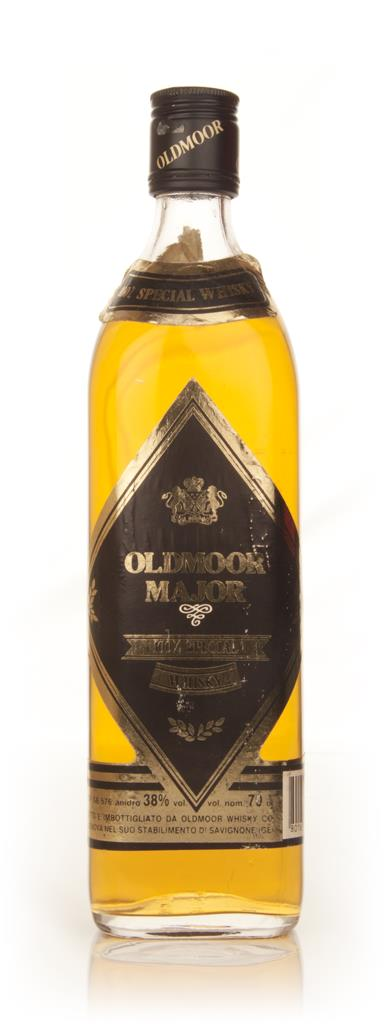 Oldmoor Major Blended Scotch Whisky - 1970s Blended Whisky