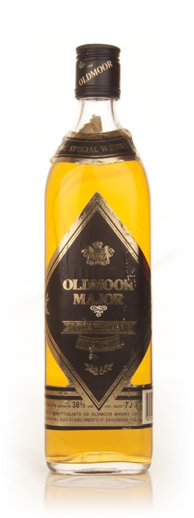 Oldmoor Major Blended Scotch Whisky - 1970s Blended Whisky