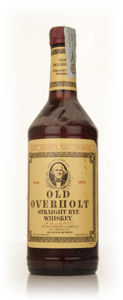 Old Overholt 4 Year Old Straight Rye Whiskey - 2000s Rye Whiskey