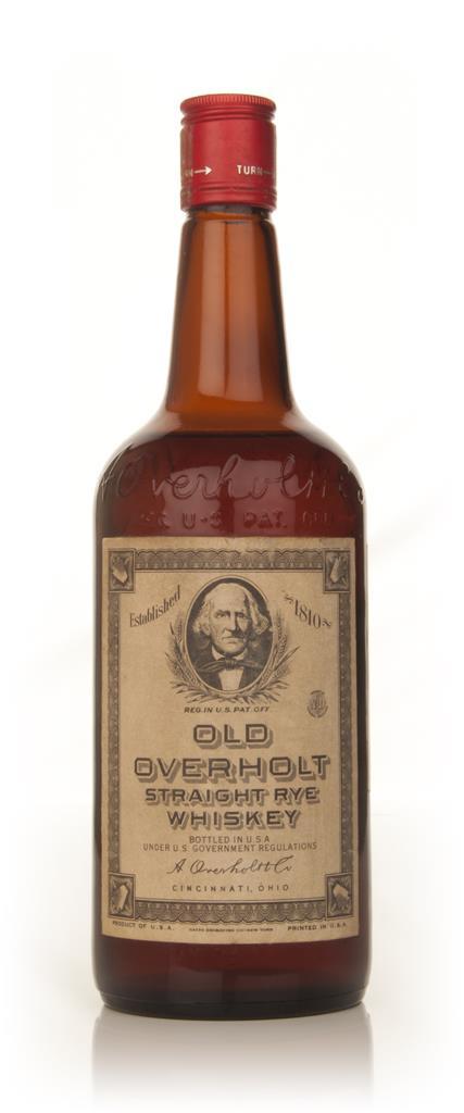 Old Overholt Straight Rye Whiskey - 1960s Rye Whiskey