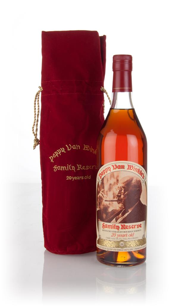 Pappy Van Winkles Family Reserve Bourbon 20 Year Old Bourbon Whiskey