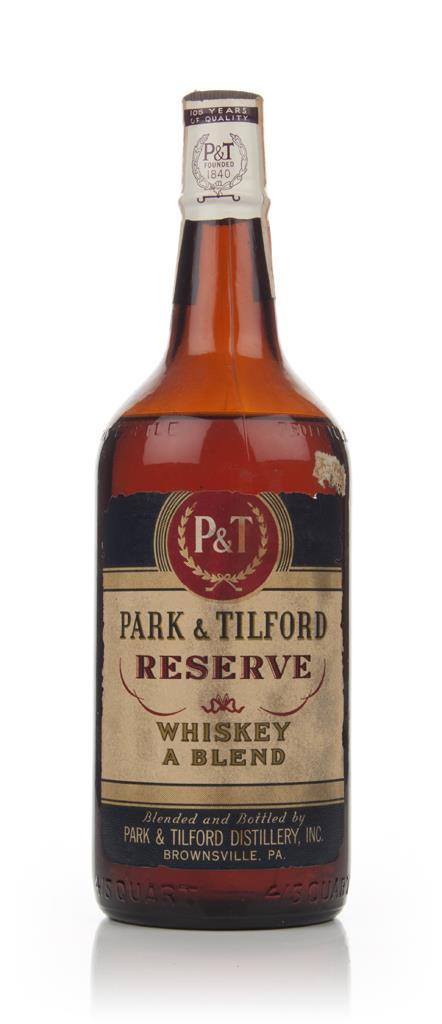 Park And Tilford Reserve Blended Whiskey - Bottled 1946 Blended Whiskey