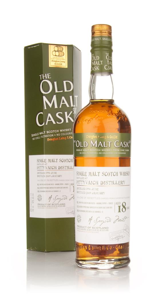 Pittyvaich 18 Year Old 1990 - Old Malt Cask (Douglas Laing) Single Malt Whisky