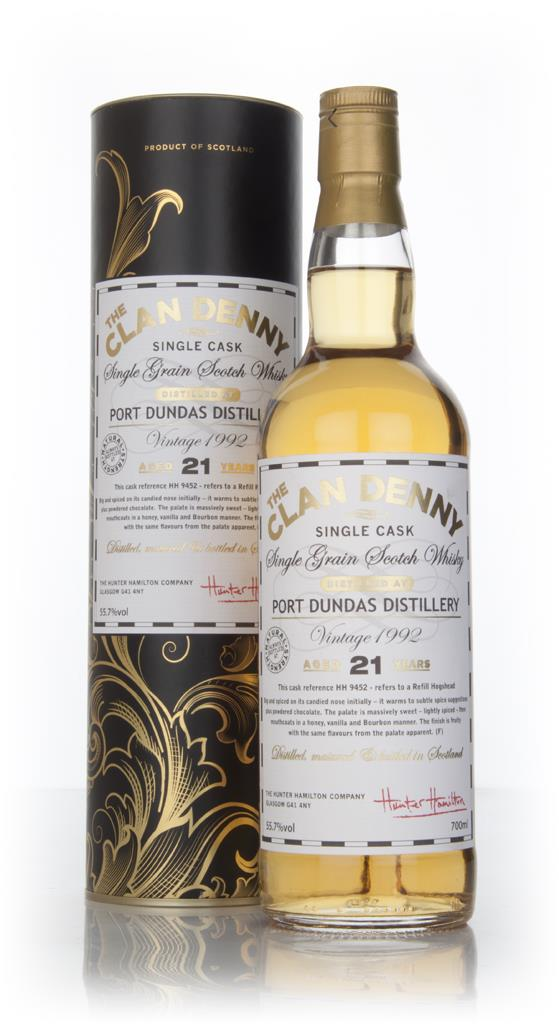 Port Dundas 21 Year Old 1992 (cask 9452) - The Clan Denny (Douglas Lai Grain Whisky