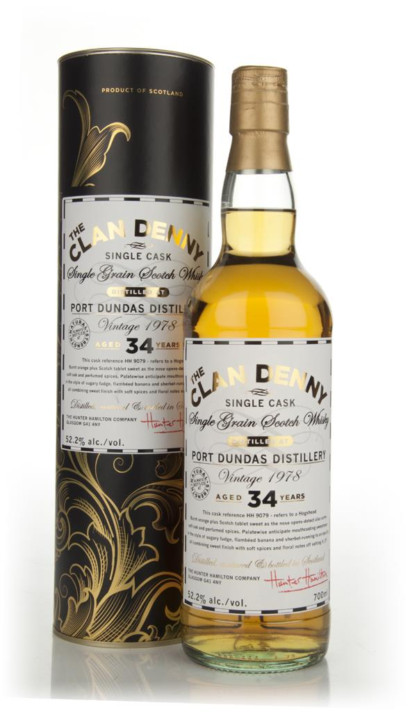 Port Dundas 34 Year Old 1978 Cask 9079 - The Clan Denny (Douglas Laing Single Malt Whisky