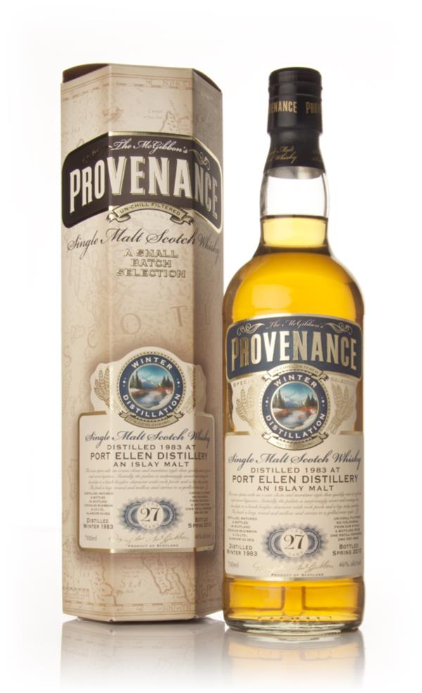 Port Ellen 27 Year Old 1983 Cask 6000 - Provenance (Douglas Laing) Single Malt Whisky