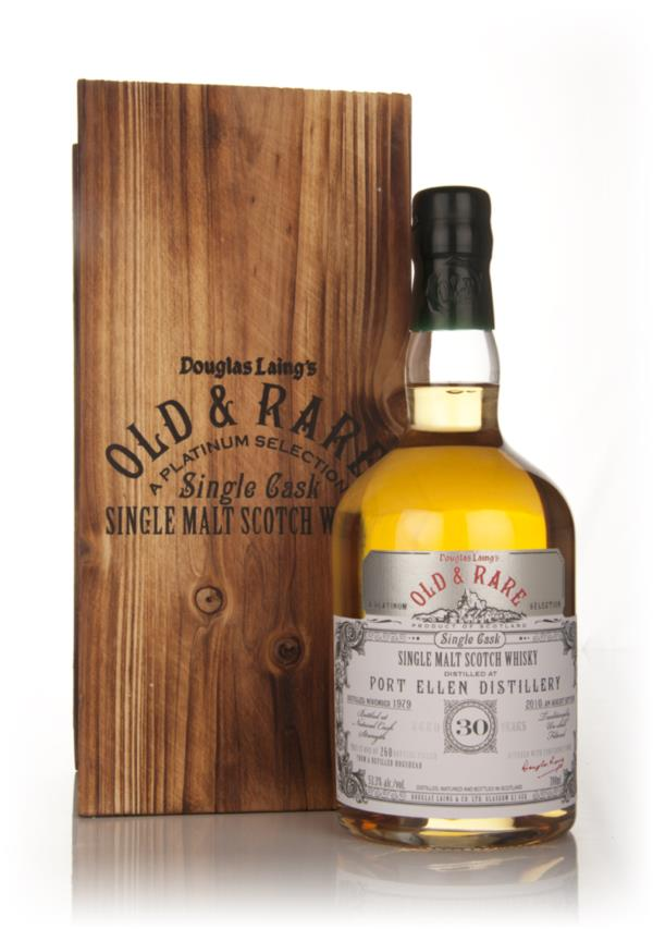 Port Ellen 30 Year Old 1979 - Old and Rare Platinum (Douglas Laing) Single Malt Whisky