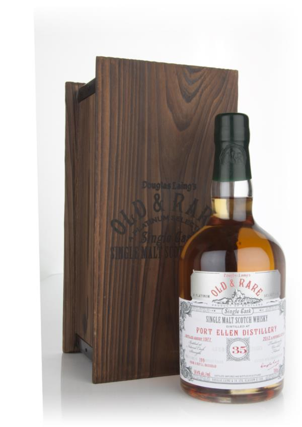 Port Ellen 35 Year Old 1977 - Old and Rare Platinum (Douglas Laing) Single Malt Whisky