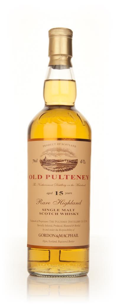Old Pulteney 15 Year Old (Gordon & MacPhail) 43% Single Malt Whisky