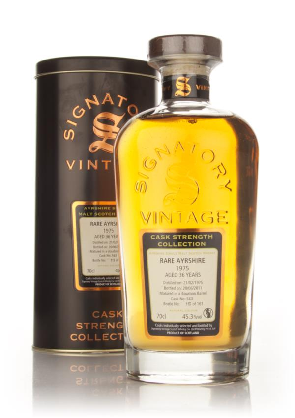 Rare Ayrshire 36 Year Old 1975 Cask 563 - Cask Strength Collection (Si Grain Whisky