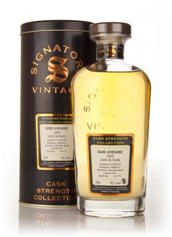 Rare Ayrshire 36 Year Old 1975 Cask 564 - Cask Strength Collection (Si Single Malt Whisky