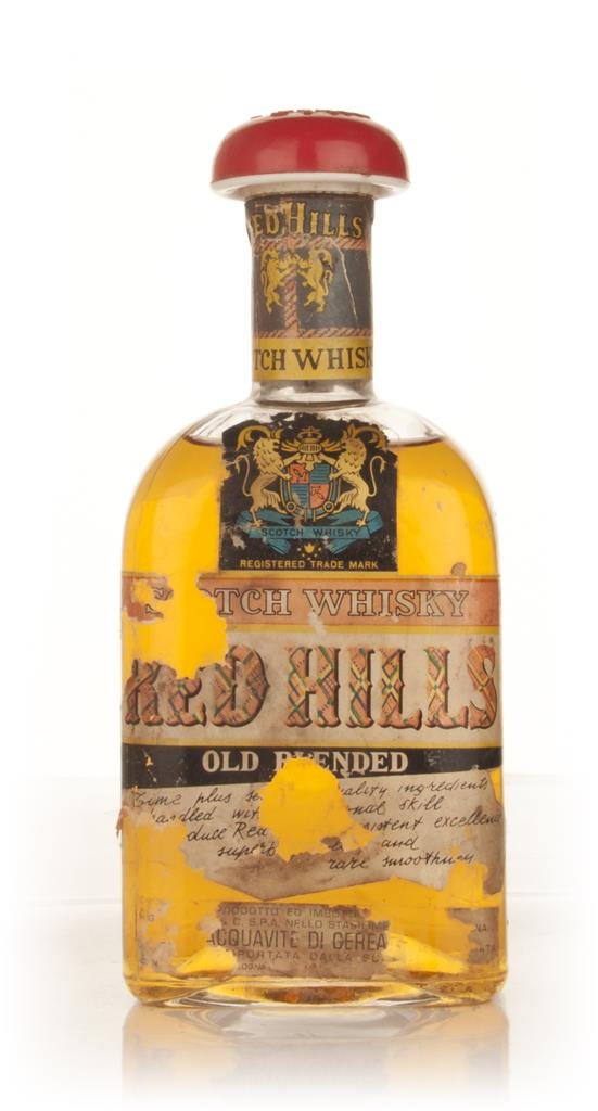 Red Hills Blended Scotch Whisky - 1960s Blended Whisky
