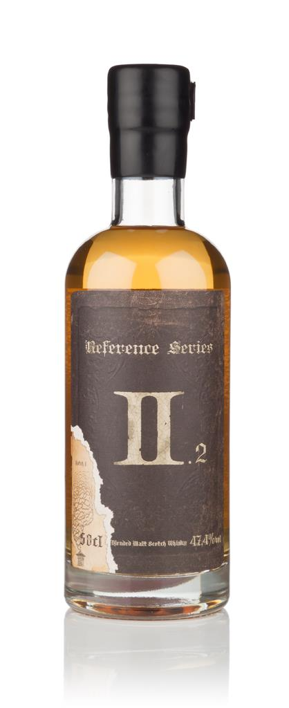 Reference Series II.2 3cl Sample Blended Malt Whisky