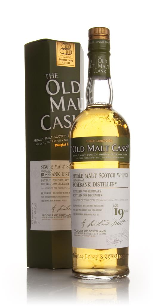 Rosebank 19 Year Old 1990 - Old Malt Cask (Douglas Laing) Single Malt Whisky