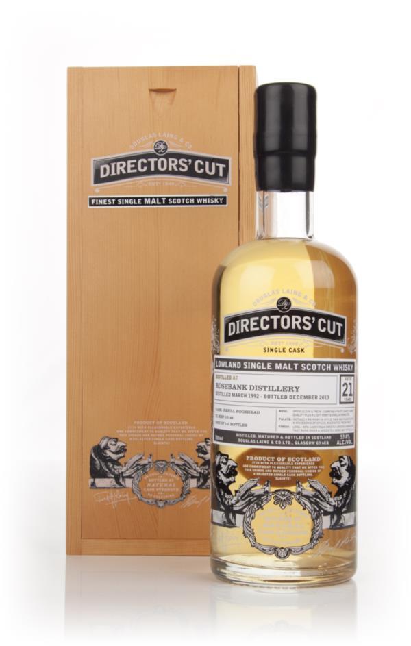 Rosebank 21 Year Old 1992 (cask 10146) - Directors' Cut (Douglas Laing Single Malt Whisky