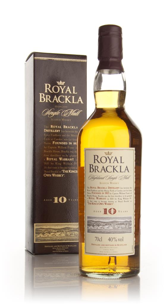 Royal Brackla 10 Year Old Single Malt Whisky