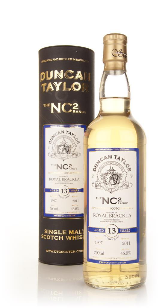 Royal Brackla 13 Year Old 1997 NC2 Single Malt Whisky