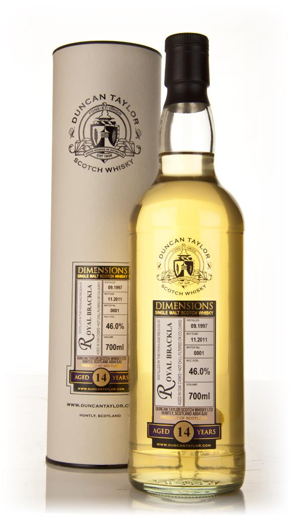 Royal Brackla 14 Year Old 1997 - Dimensions (Duncan Taylor) Single Malt Whisky