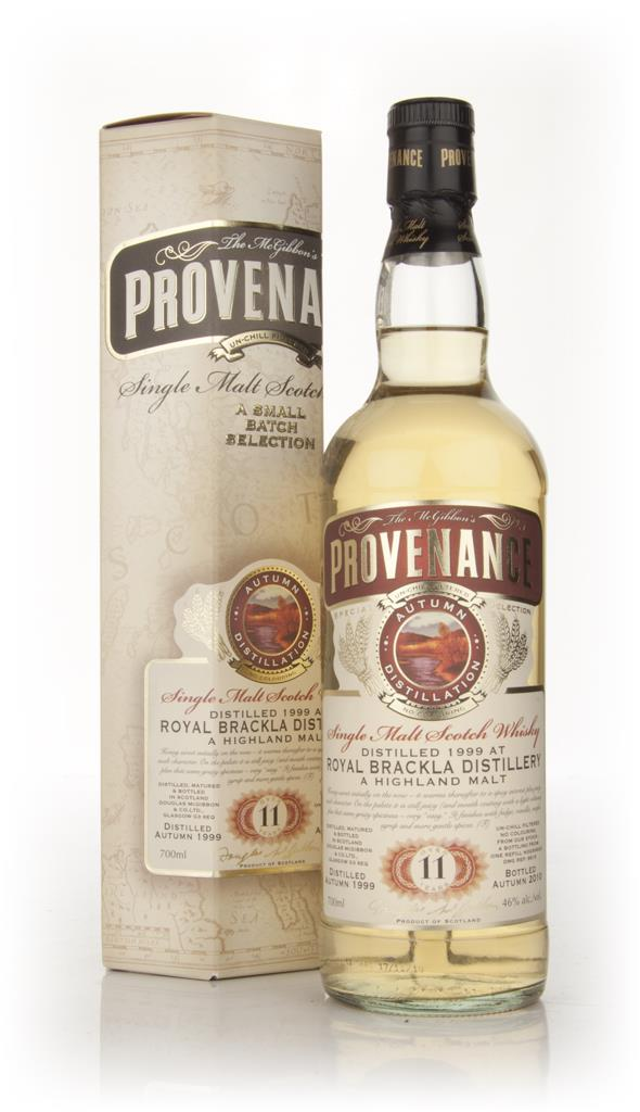 Royal Brackla 11 Year Old 1999 - Provenance (Douglas Laing) Single Malt Whisky