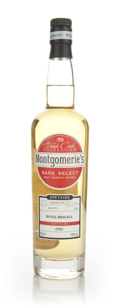 Royal Brackla 1993 - Rare Select (Montgomeries) Single Malt Whisky