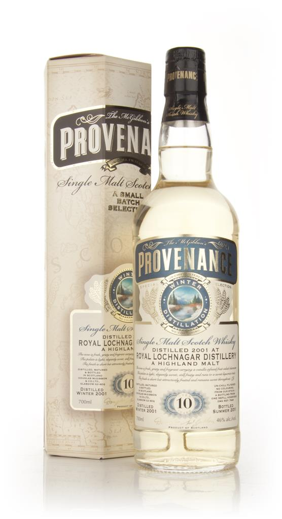 Royal Lochnagar 10 Year Old 2001 - Provenance (Douglas Laing) Single Malt Whisky