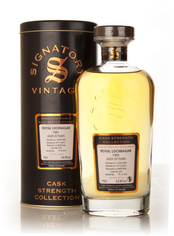 Royal Lochnagar 20 Year Old 1991 Cask 374 - Cask Strength Collection ( Single Malt Whisky