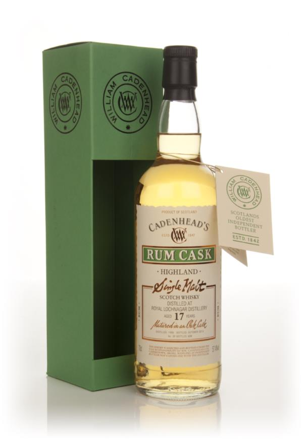 Royal Lochnagar 17 Year Old 1996 - Rum Cask (MW Cadenhead) Single Malt Whisky