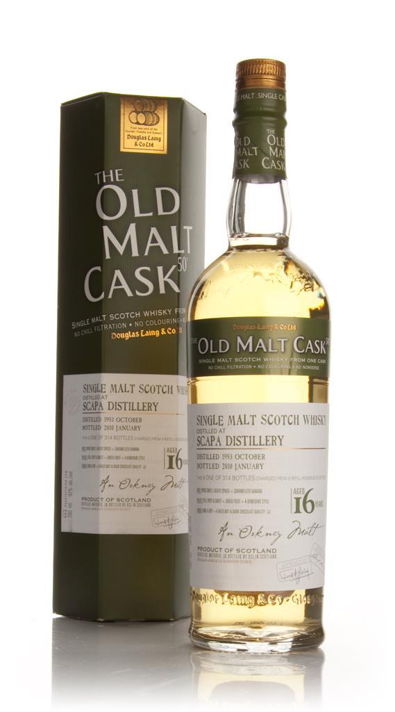 Scapa 16 Year Old 1993 - Old Malt Cask (Douglas Laing) Single Malt Whisky