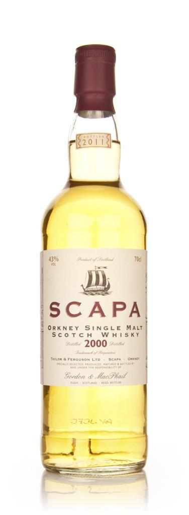 Scapa 2000 (Gordon and MacPhail) Single Malt Whisky